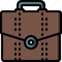 breifcase, business, satchel, storage icon