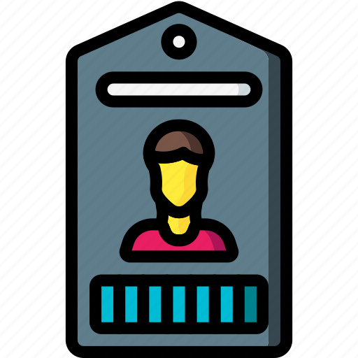 business, card, id, identification icon