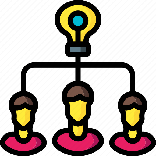 business, group, idea, tank, think, users icon