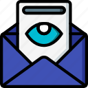 business, email, mail, read, viewed icon