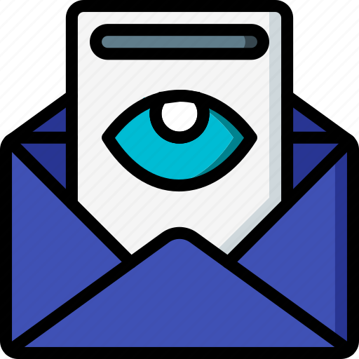 Business, email, mail, read, viewed icon - Download on Iconfinder