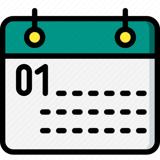 business, calendar, date, day, month, year icon