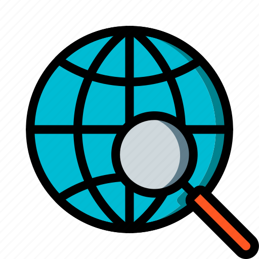 business, find, global, globe, search, world icon