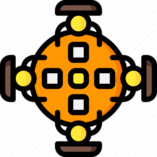 board, business, conference, meeting, table, users icon
