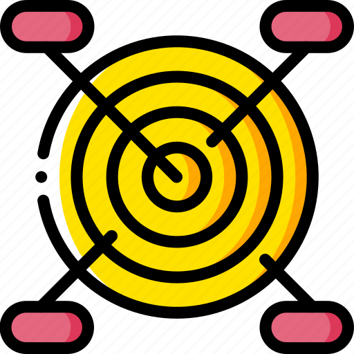 business, comments, sales, tragetted, yellow icon