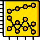 business, chart, graph, graphs, scatter, stats, yellow