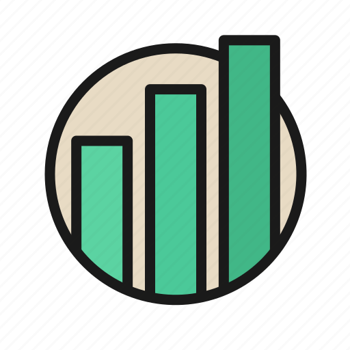bank, business, finance, graph, graphic, money, office icon