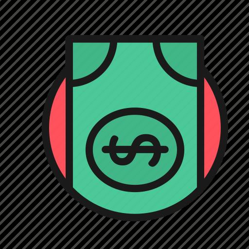 baks, bank, business, cash, finance, money, office icon