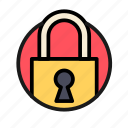 bank, business, finance, lock, money, office, safe icon
