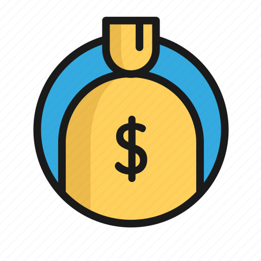 Bag, bank, business, finance, money, office icon - Download on Iconfinder