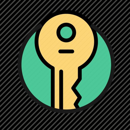 bank, business, finance, key, money, office, safe icon
