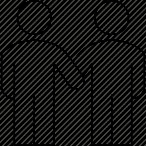 business, partner, people, teamwork icon
