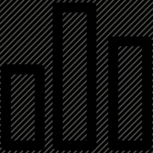 bar, chart, histogram, statistics icon