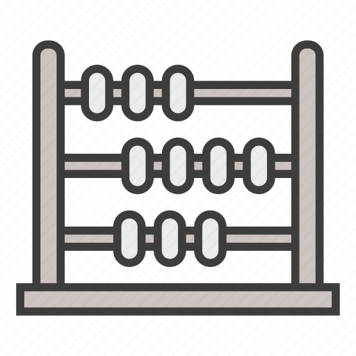 abacus, business, calculator, count, counting, education, math icon