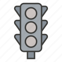 activity, business, light, sign, traffic, transport, transportation icon