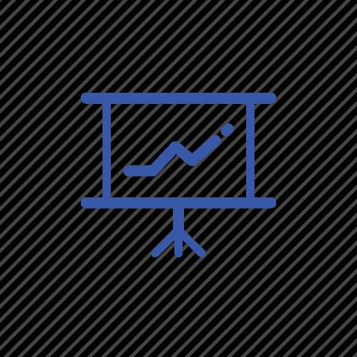 bar, business, chart, dashboard, display, graph, presentation icon