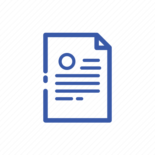 business, document, draft, finance, list, note, paper icon