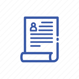 business, draft, finance, list, note, paper icon
