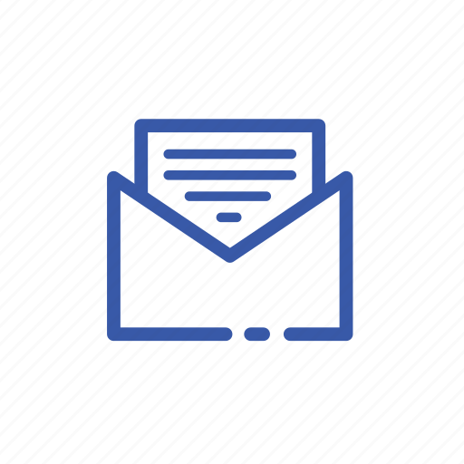 business, letter, mail, messeage, office icon