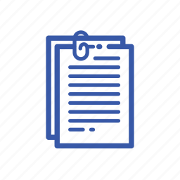 draft, list, note, record icon