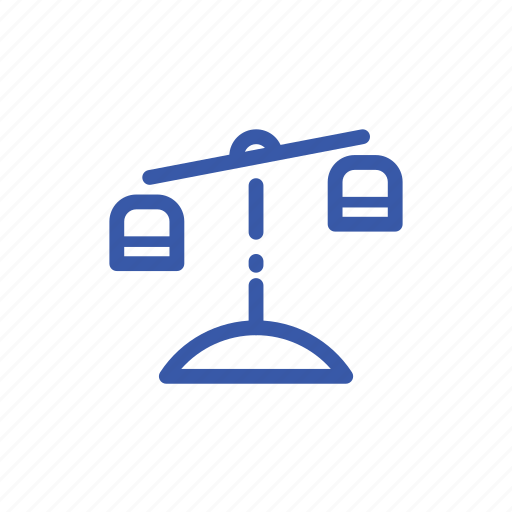business, justice, law, legal, scale icon
