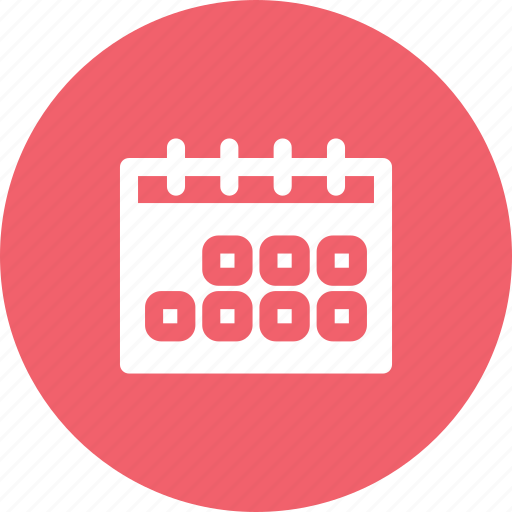 agenda, calendar, data, events, planning icon