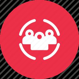 company, corporation, team, teamwork icon