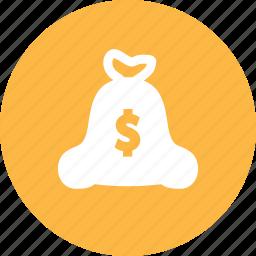 bag, fortune, money, treasure, wealth icon