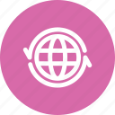 exchange, globe, international, translation icon