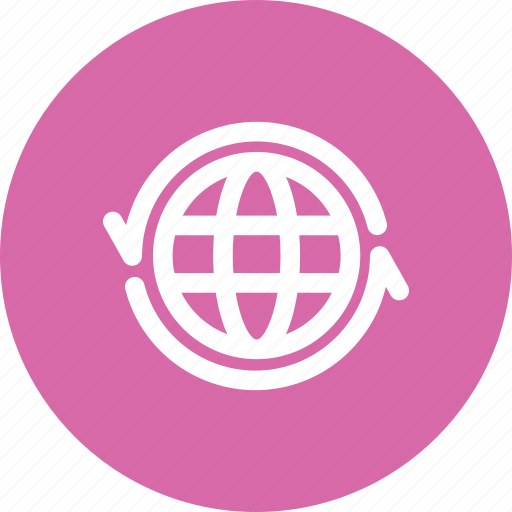 exchange, globe, international, translation icon