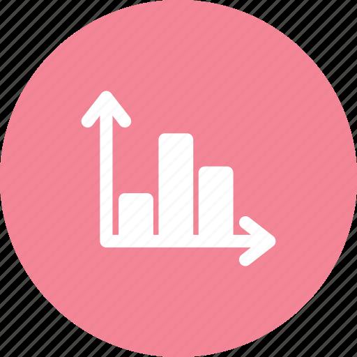 bars graph, chart, graph, histogram icon