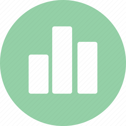 bar chart, bars, histogram, statistics icon