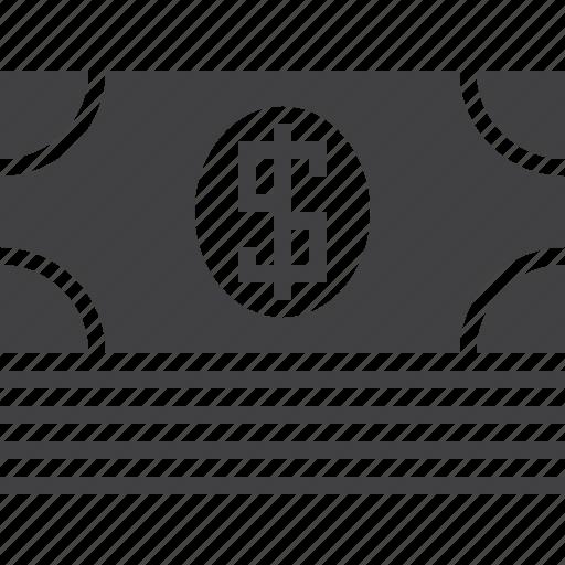 bill, cash, money, pack icon