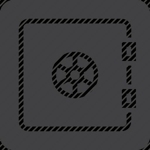 bank, deposit, safe icon