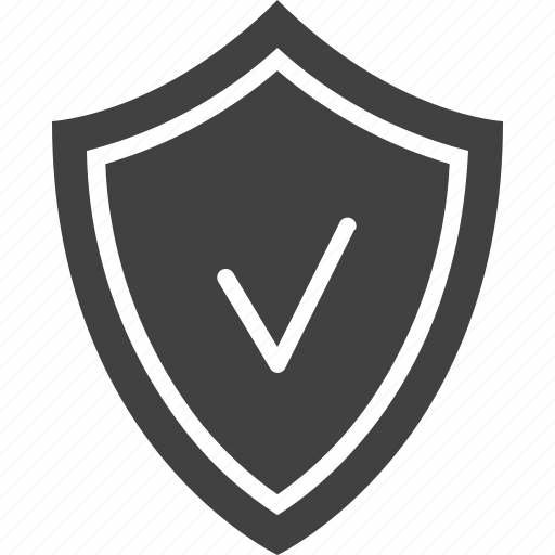 insurance, protection, shield icon