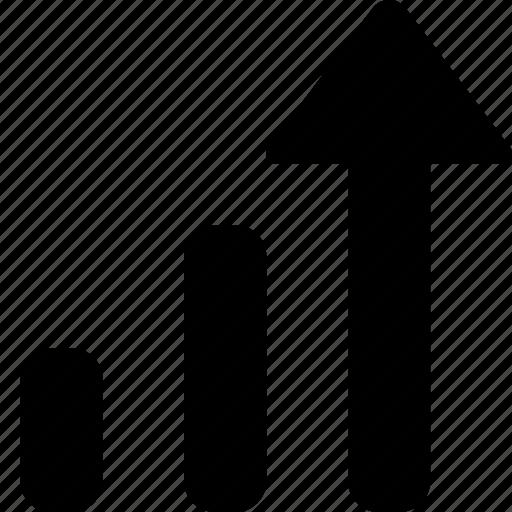 business, metrics, performance icon