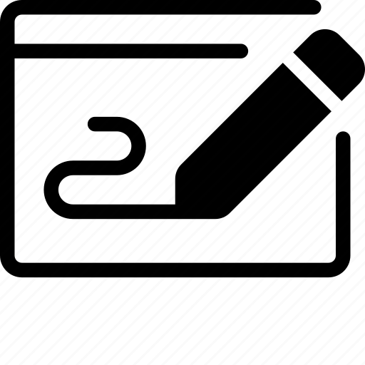 cheque icon