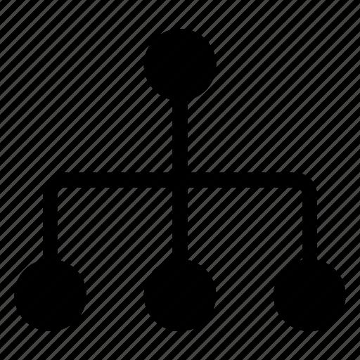org, organization, structure icon