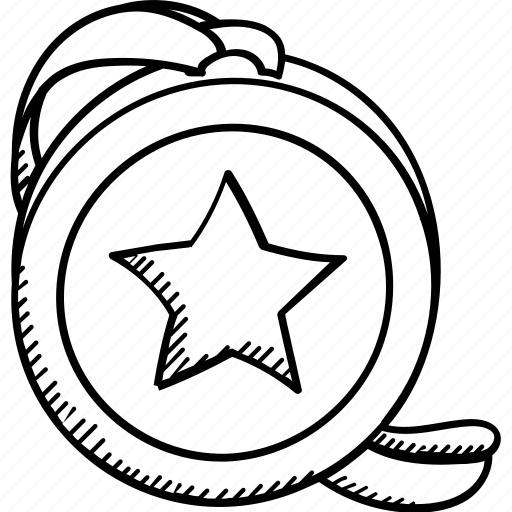 Emblem, gold medal, winner, medal, award icon - Download