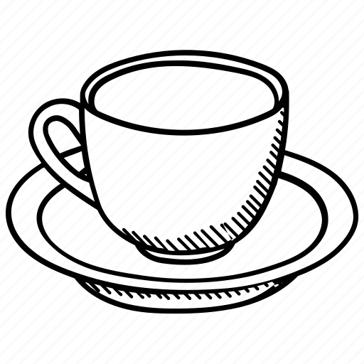 beverage, coffee cup, drink, saucer, tea cup icon