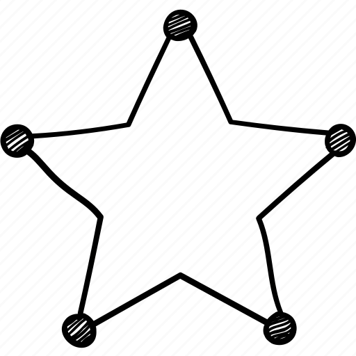 five pointed, ranking, rating, star, star shape icon