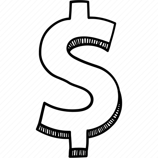 Money, currency, dollar, wealth, cash icon