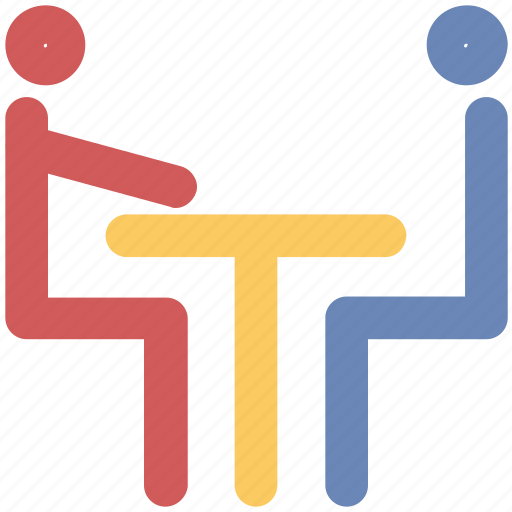 conference, corporate meeting, group, interview, meeting, partner, users icon