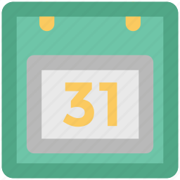 calendar, date, event, hanging calendar, schedule, time frame, time scale icon