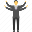 business idea, business opportunity, marketing opportunity, new business, successful businessman icon
