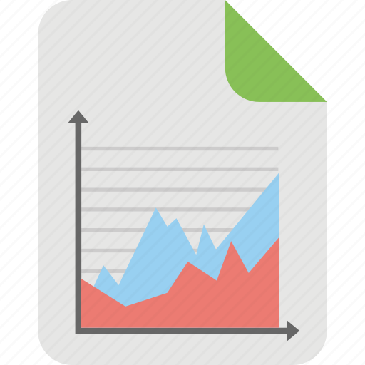 business report, financial planning, financial report, sales report, statistics icon