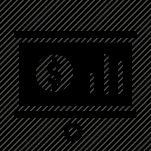 Business, chart, economics, money, presentation icon - Download on Iconfinder