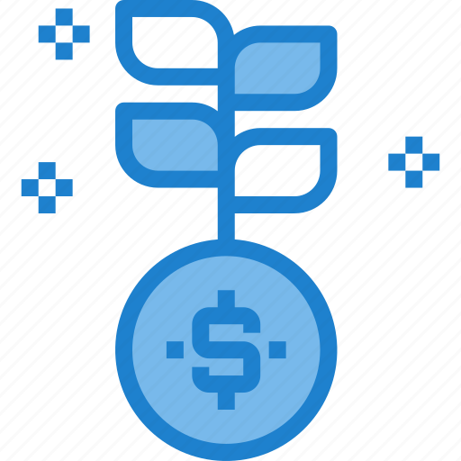 business, chart, growth, money, tree icon