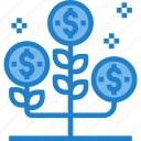 analysis, business, growth, report, tree icon