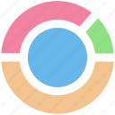circle, diagram, graph, loading, pie, pie chart icon